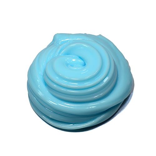 sky blue creamy slime