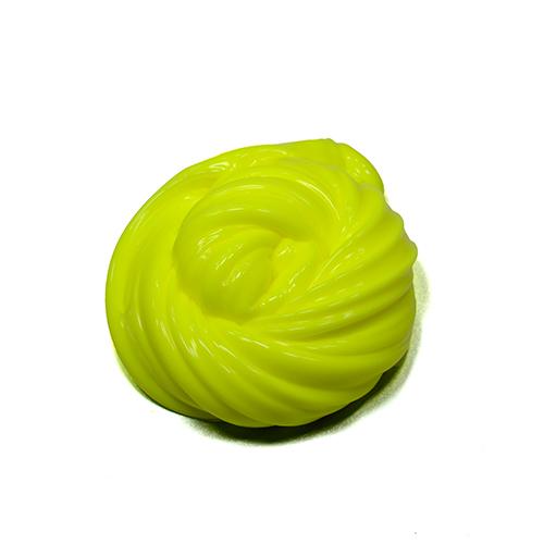 yellow creamy slime